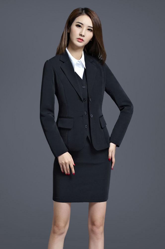 女款时尚气质西服定制