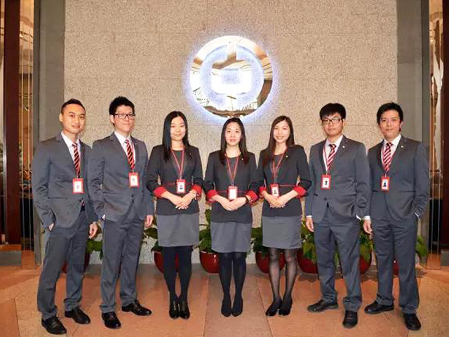 中国银行制服