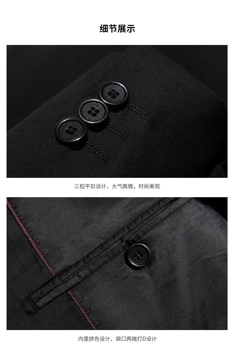 西服外套细节图