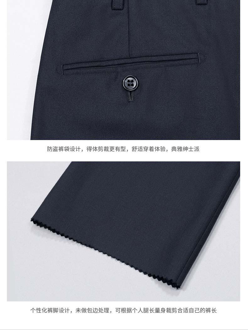 西裤款式细节图