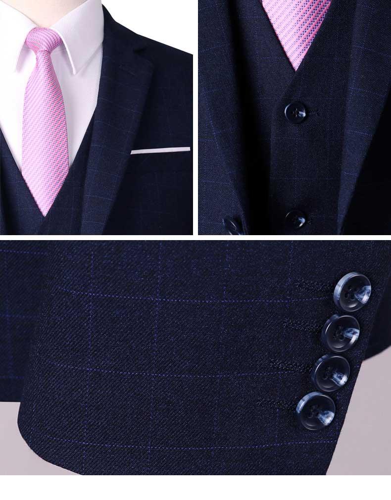 西服款式工艺细节