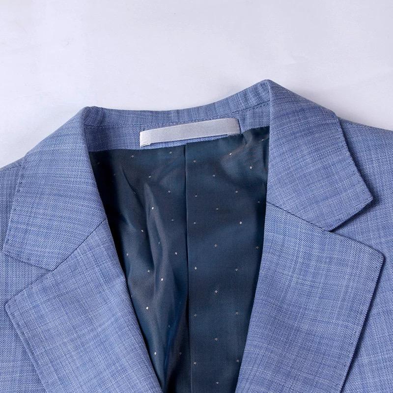 西服领型细节