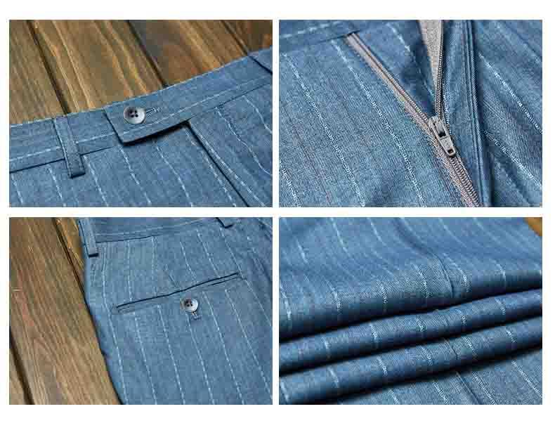 西裤款式细节