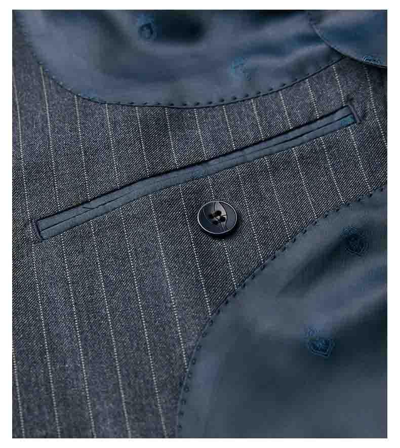 西服内袋款式细节图