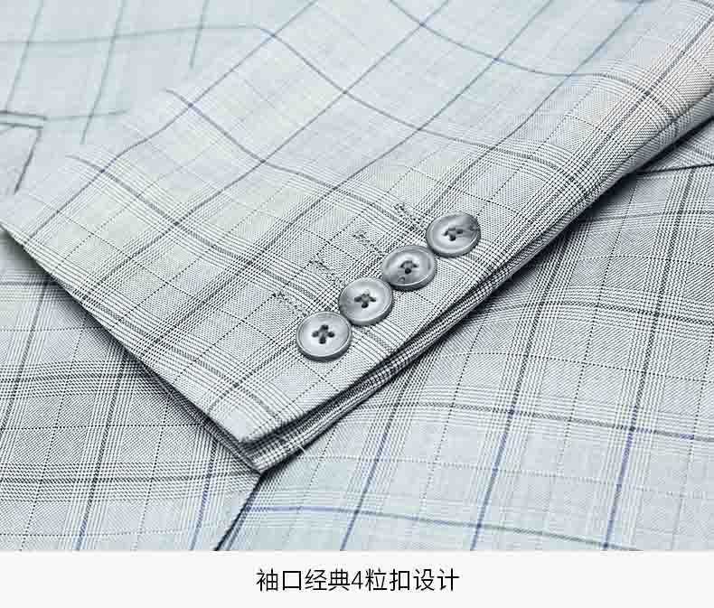 西服袖口款式细节图