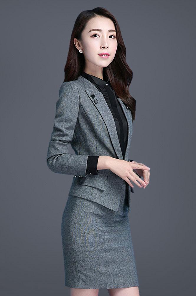 高级女装西服订制