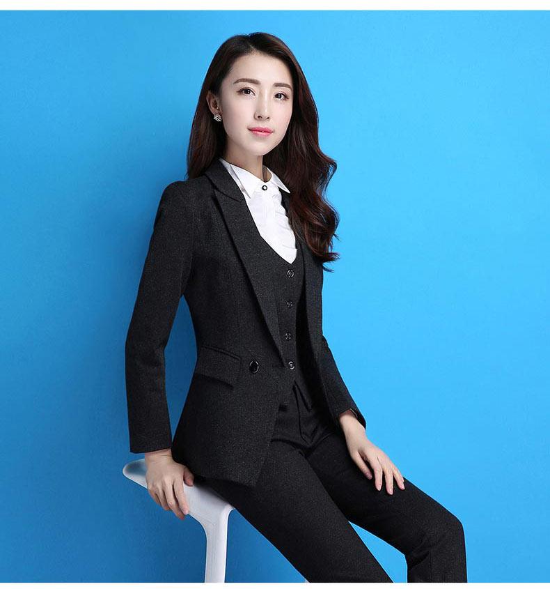 女士职业装款式图