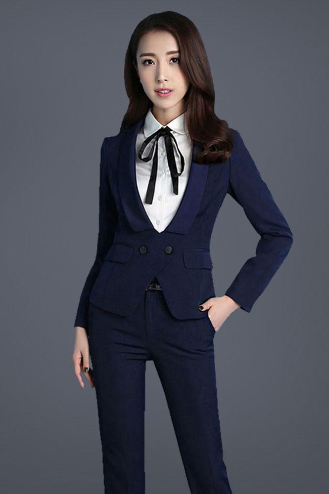 新款时尚修身职业装定制