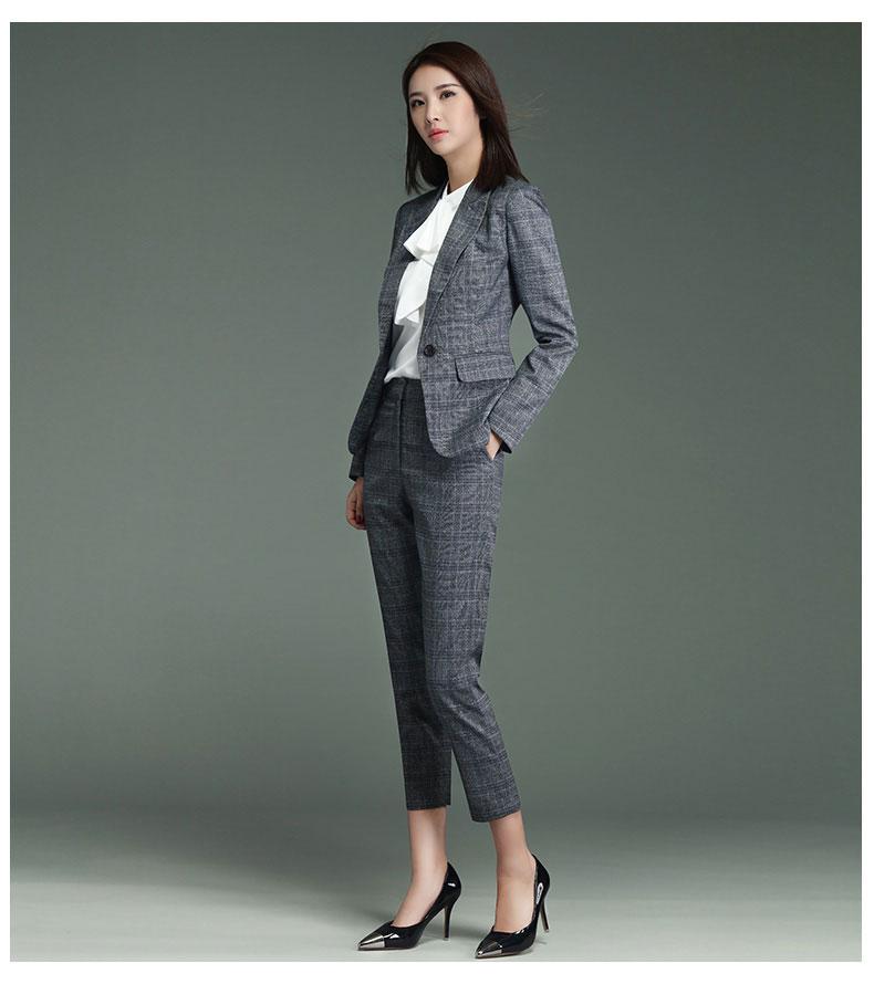 女士时尚西服款式图