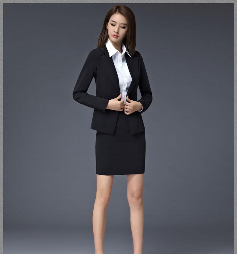 女款时尚西服款式图