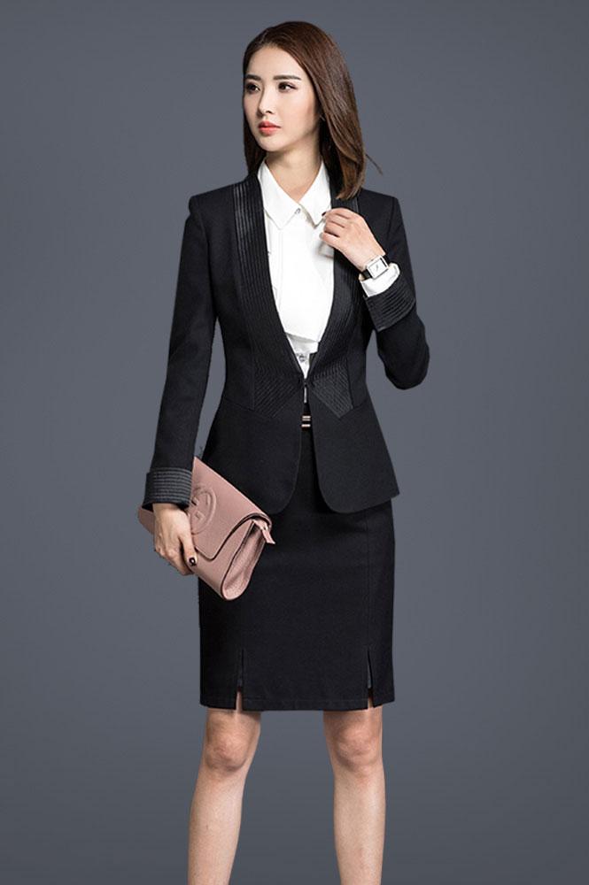 女款短裙西服定制