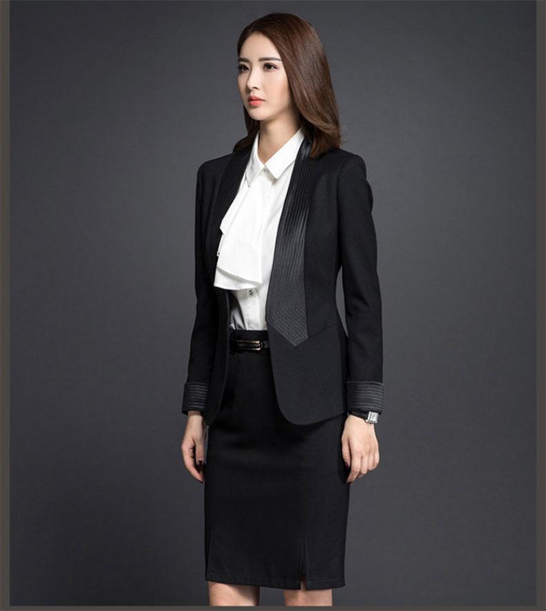 女款西服款式图