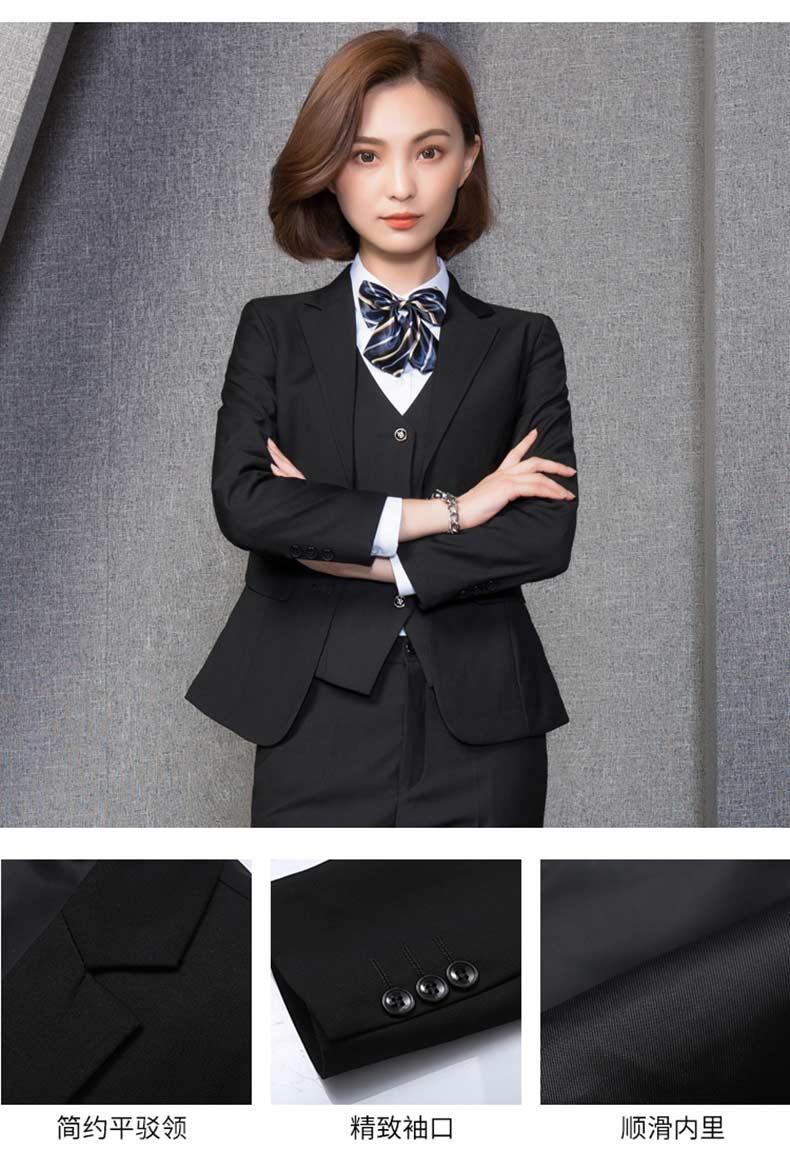 公司团体女西装款式图