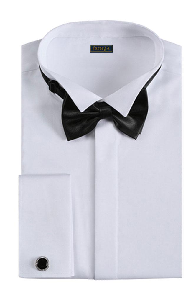 男士礼服长袖衬衣定制