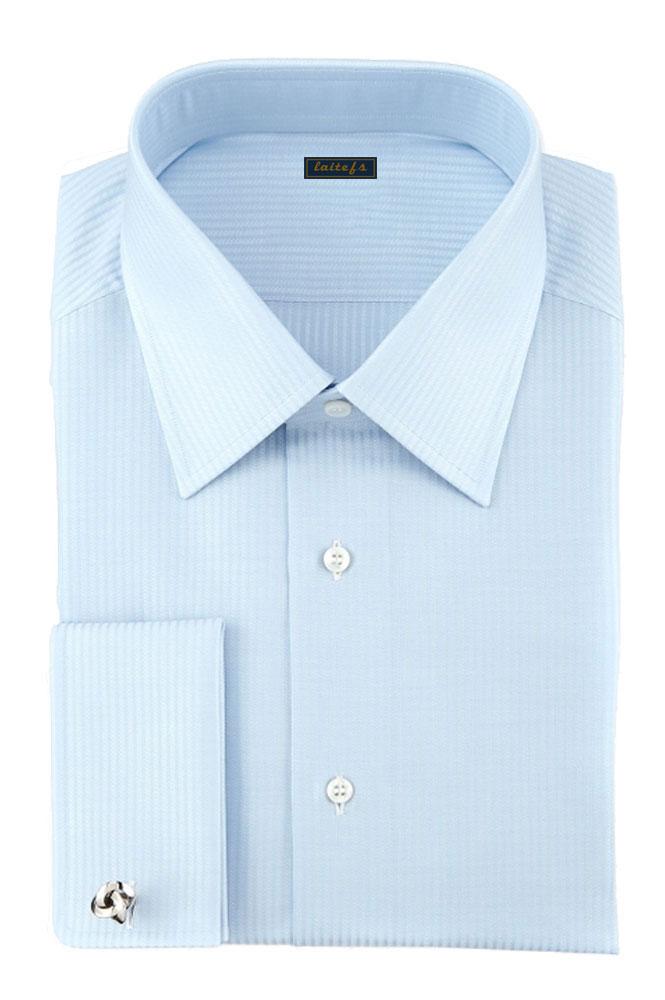 男式商务正装长袖衬衫定制