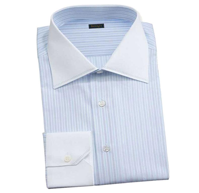 条纹衬衫款式图