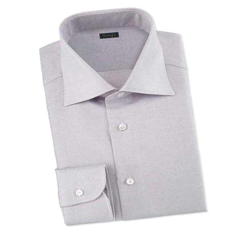 灰色衬衫款式图