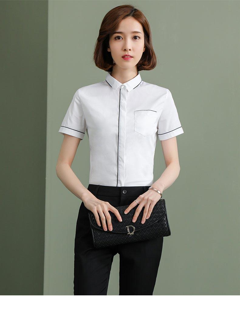 女士衬衫款式图