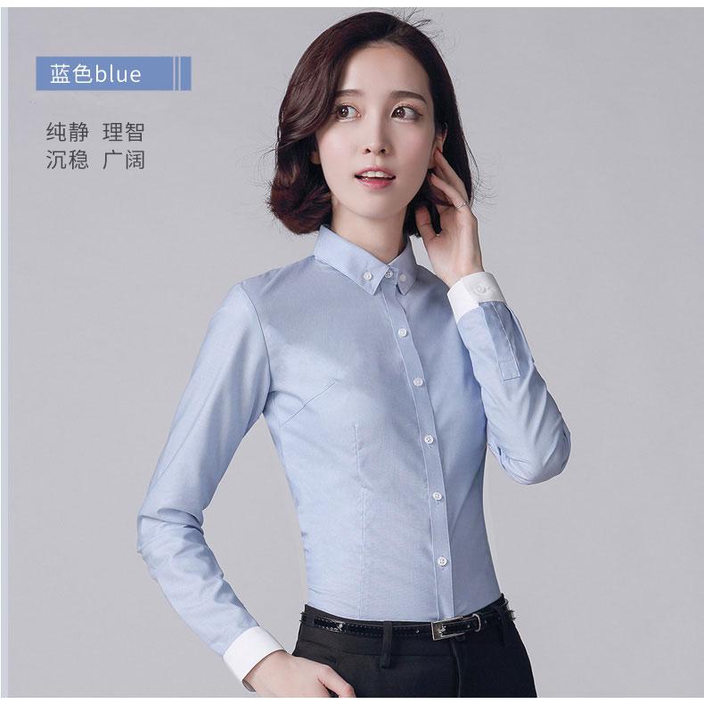 女款衬衫款式图