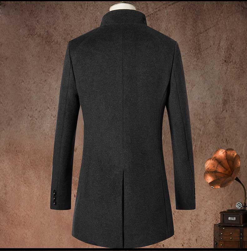 男青年大衣款式图