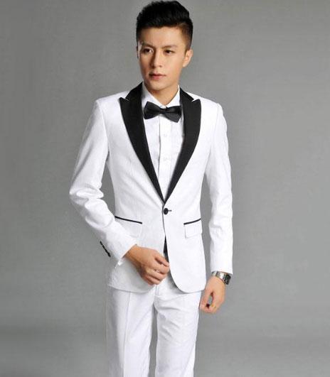 婚礼西服款式参考