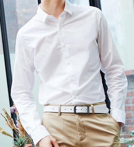 衬衫搭配西裤款式参考图
