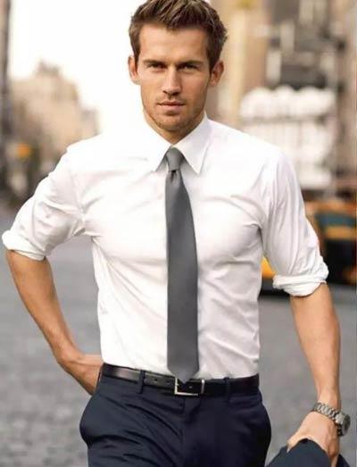男士衬衫定制款式参考图