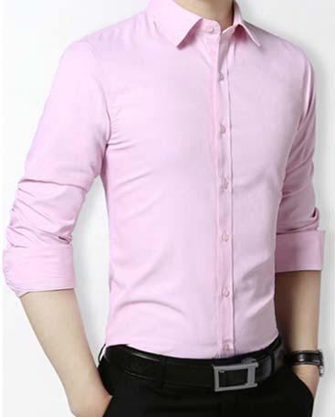 粉色衬衫面料