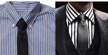衬衫领带的搭配