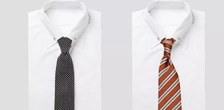 衬衫领带搭配