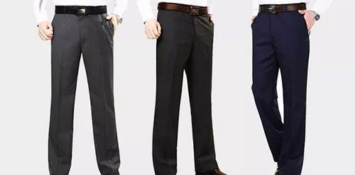 西裤与腰带的颜色搭配