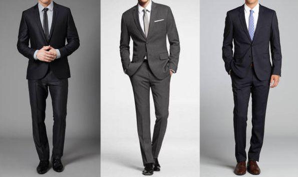 西服与领带的搭配