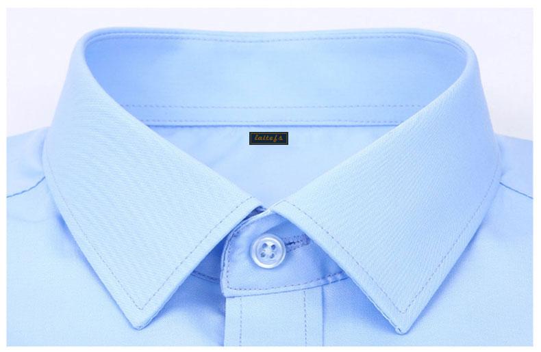 衬衫领型细节