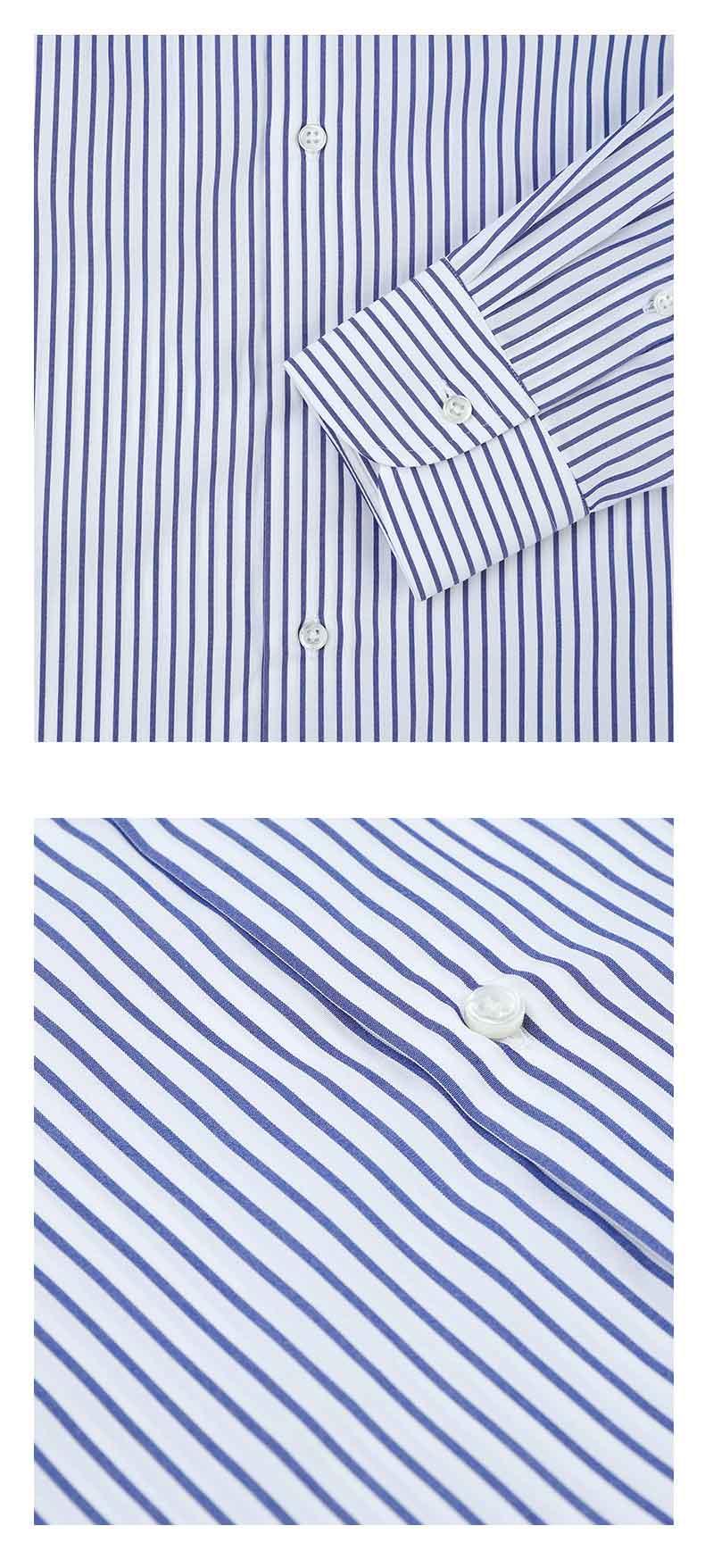 男士衬衫纽扣细节图