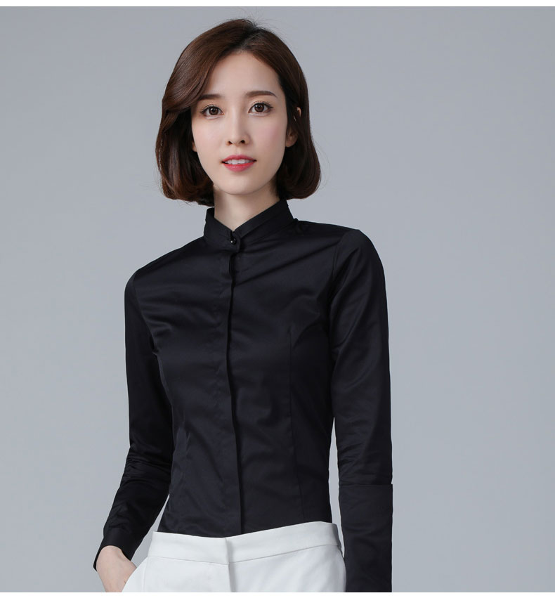 女士职业衬衫款式图