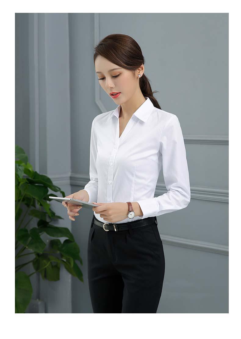 女士职场衬衫款式图