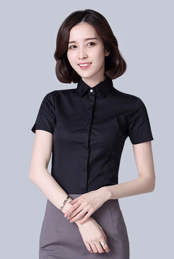 女款修身衬衫定制
