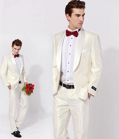 男士户外婚礼西服