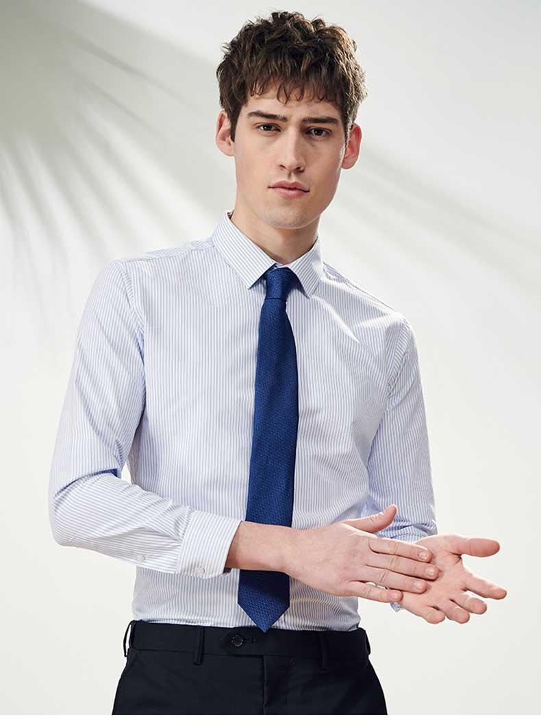 男装衬衫定制款式图