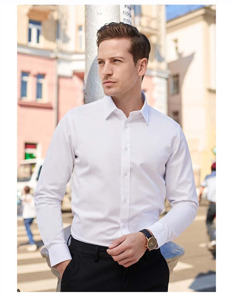 男士衬衫定做款式图