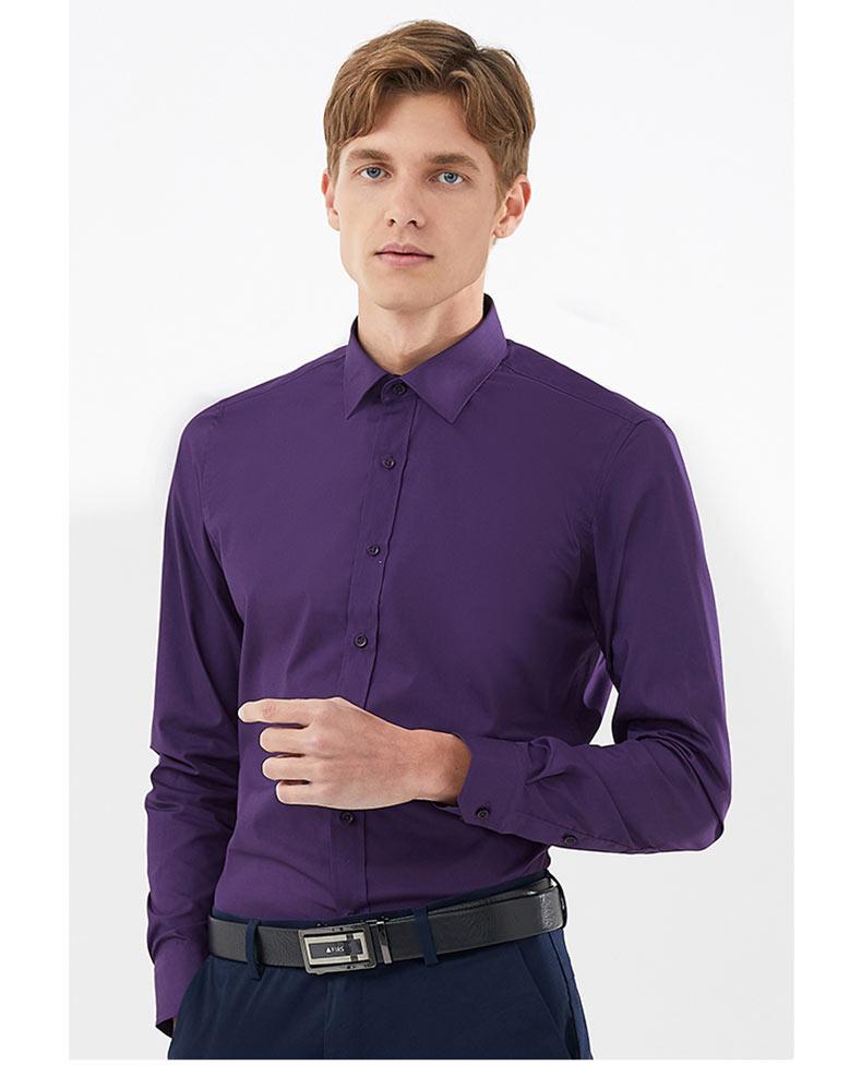 男士职业衬衫定制款式图
