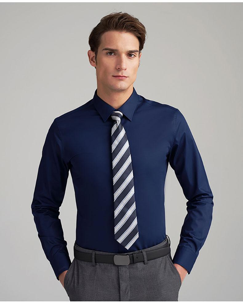 男士衬衫高档定制款式图