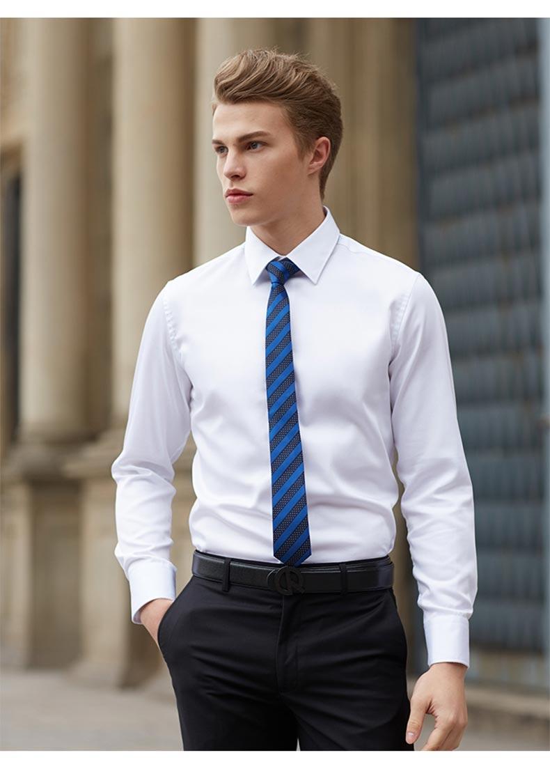 专业定制男衬衫款式图