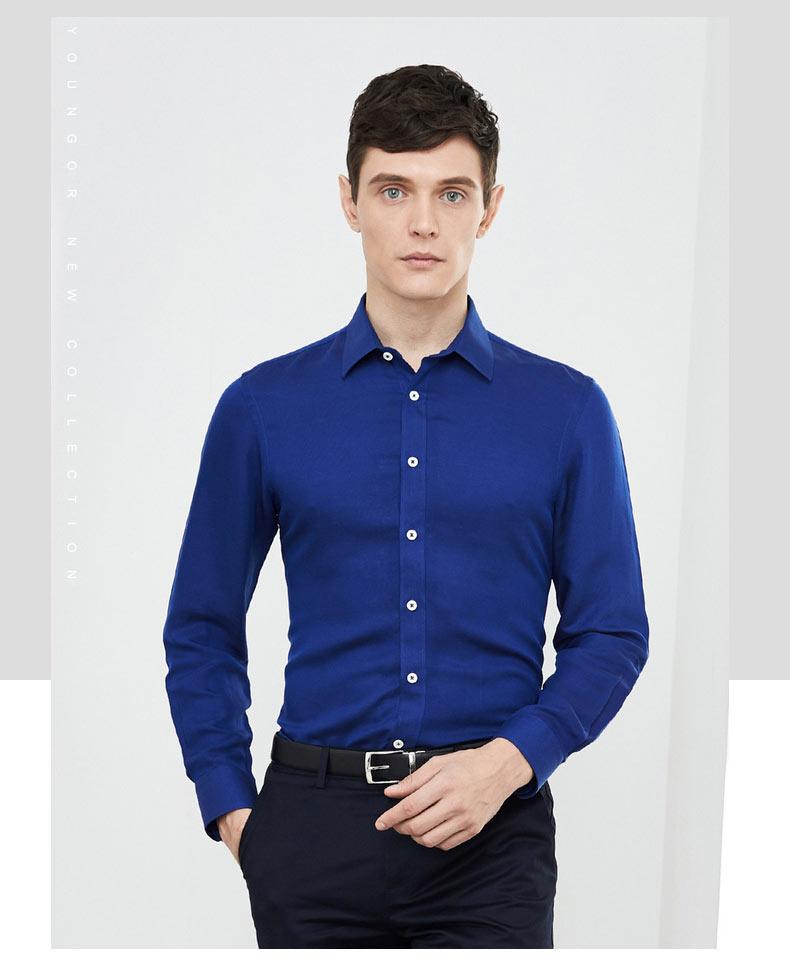 男式衬衫定做款式图