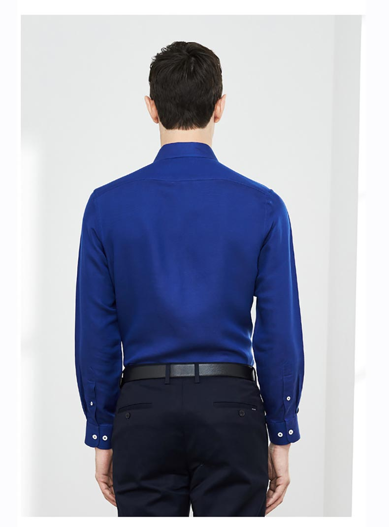男士定做衬衫款式图