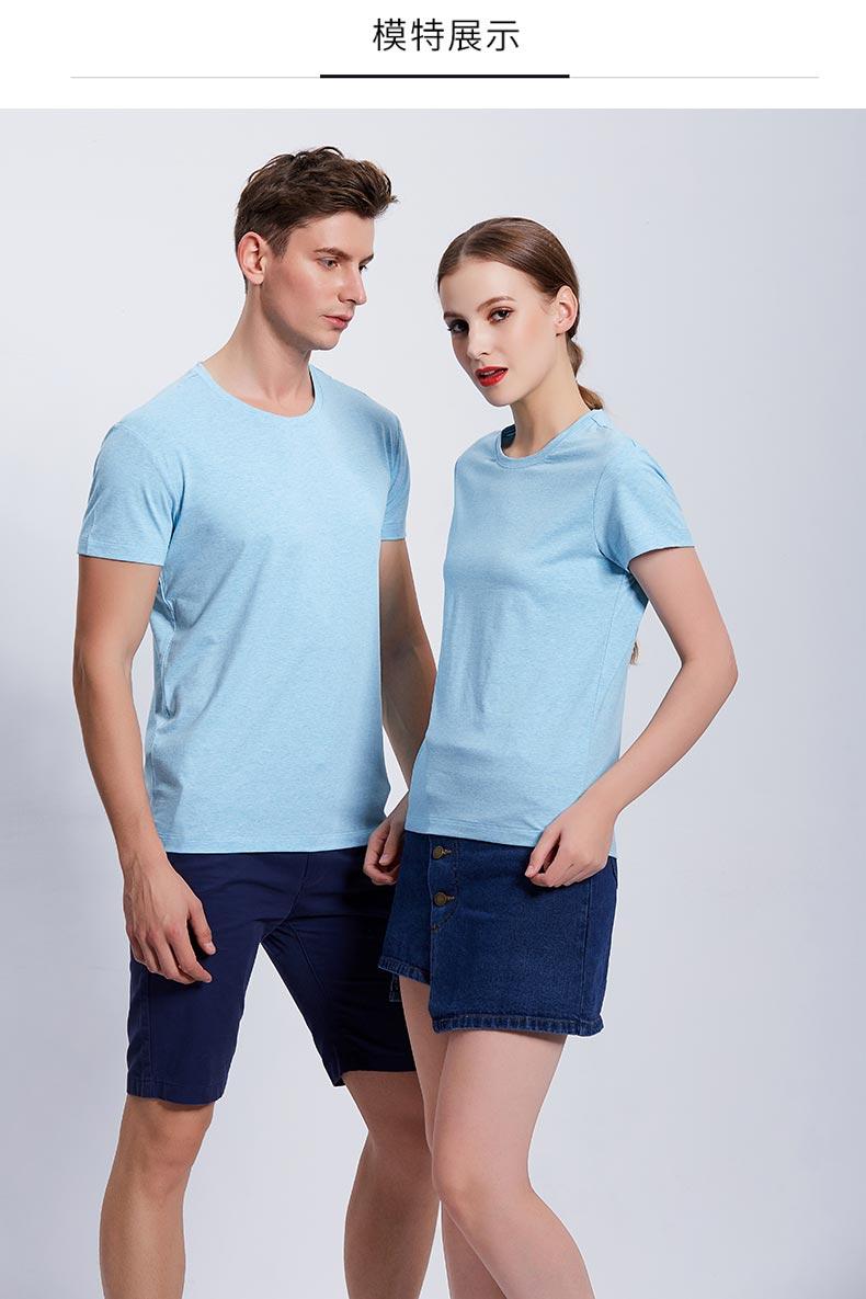 高档T恤衫款式展示图