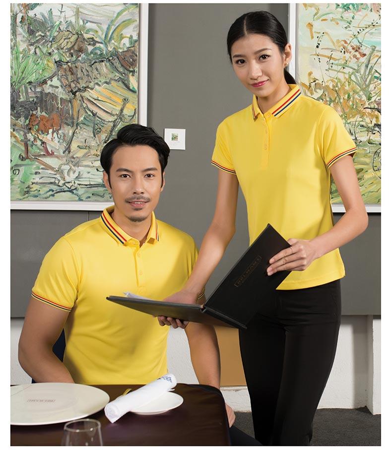 企业团体POLO衫模特展示图