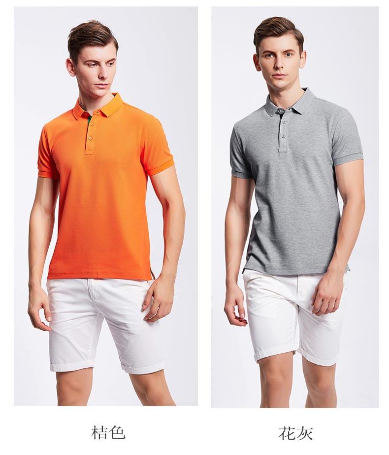 夏季短袖POLO衫款式图
