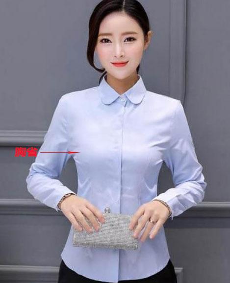 女士衬衫版型款式图
