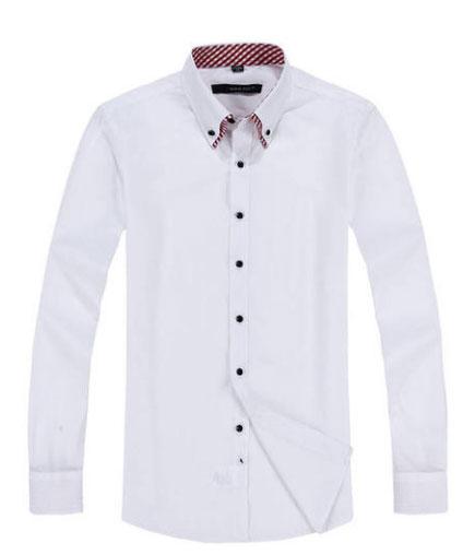 男士衬衫版型款式图